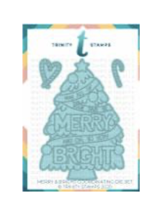 Trinity Stamps stanssi Merry And Bright
