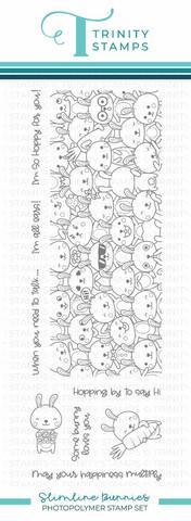 Trinity Stamps leimasin Slimline Bunnies