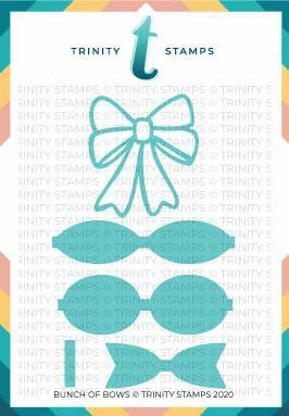 Trinity Stamps stanssi Bunch of Bows