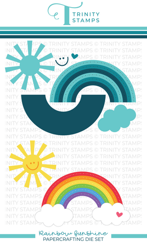 Trinity Stamps stanssi Rainbow Funshine