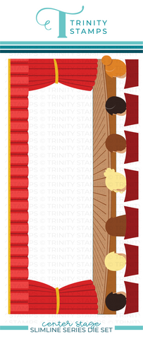 Trinity Stamps stanssi Center Stage Slimline