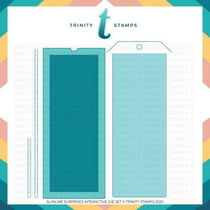 Trinity Stamps stanssi Slimline Surprises