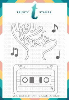 Trinity Stamps leimasin You Rock