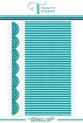 Trinity Stamps sapluunasetti Curtain Call, 6
