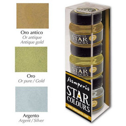 Stamperia Star Colors -maalit, setti 1