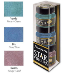 Stamperia Star Colors -maalit, setti 2