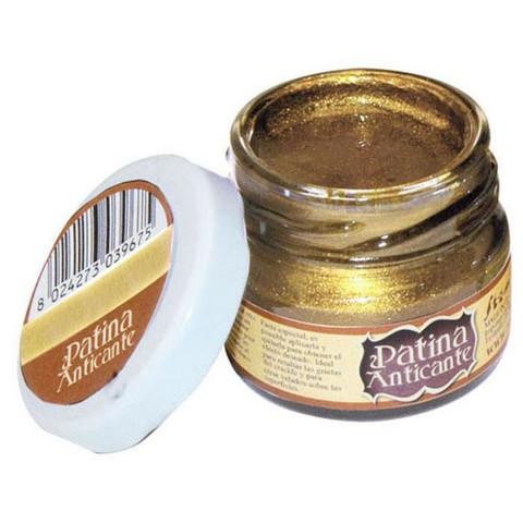 Stamperia Patina Anticante -vaha, sävy Gold
