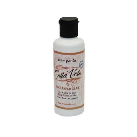 Stamperia Colla Velo -liima riisipaperille, 80 ml