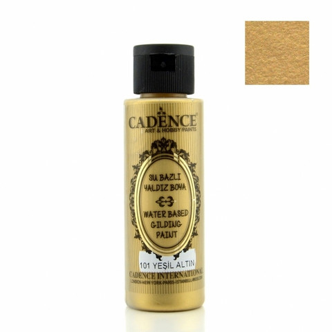 Cadence Gilding Metallic -maali, sävy Green Gold