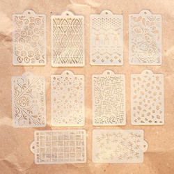 Elizabeth Craft Designs sapluunasetti Pattern