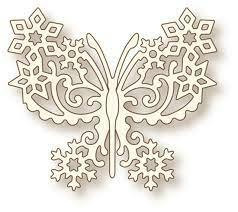 Wild Rose Studio stanssi Frosted Butterfly
