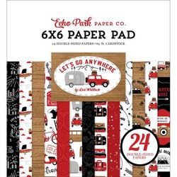 Echo Park Let's Go Anywhere -paperipakkaus
