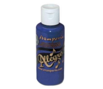 Stamperia Allegro -akryylimaali, sävy Blue Oriente