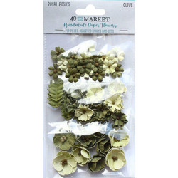 49 and Market Royal Posies paperikukat Olive