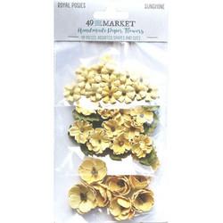 49 and Market Royal Posies paperikukat Sunshine