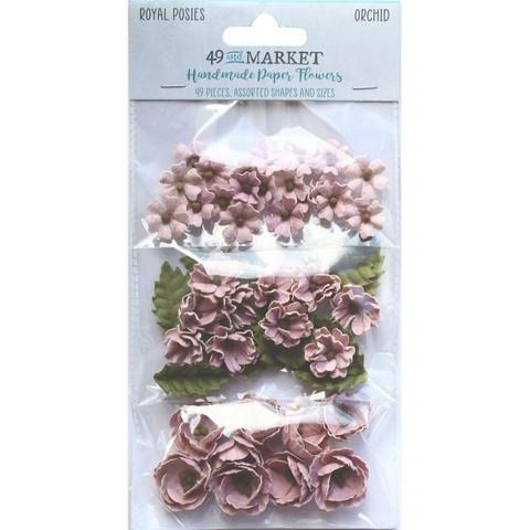49 and Market Royal Posies paperikukat Orchid