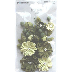 49 and Market Royal Spray paperikukat Olive