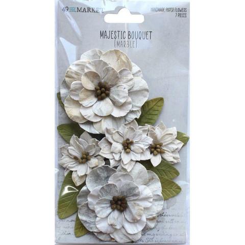 49 and Market Majestic Bouquet paperikukat Marple