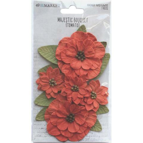 49 and Market Majestic Bouquet paperikukat Tomato