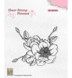 Nellie's Choice leimasin Magnolia Flower