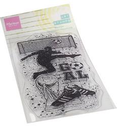 Marianne Design Art Stamps, Soccer -leimasin