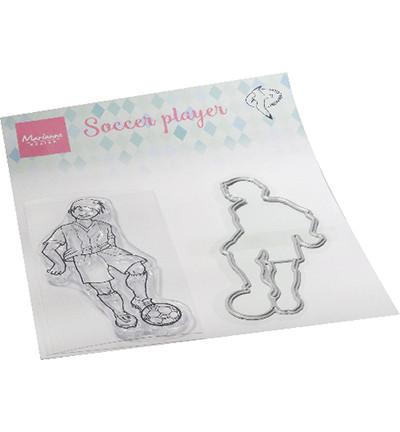 Marianne Design leimasin- ja stassisetti Hetty's Soccer Player