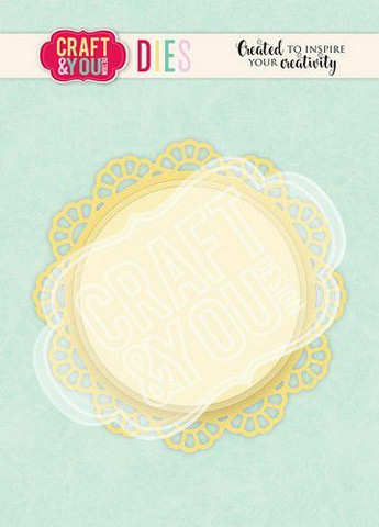 Craft & You stanssi Doily 2