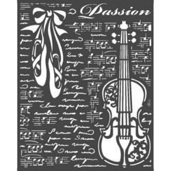 Stamperia sapluuna Passion Violin