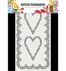Dutch Doobadoo Slimline Hearts -sapluuna