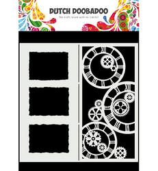 Dutch Doobadoo Slimline Clocks -sapluuna