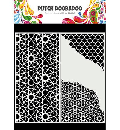 Dutch Doobadoo Slimline Cracked Patterns -sapluuna