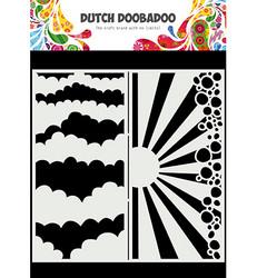 Dutch Doobadoo Slimline Clouds -sapluuna