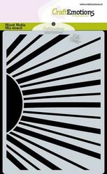 CraftEmotions sapluuna Sun Rays, A6