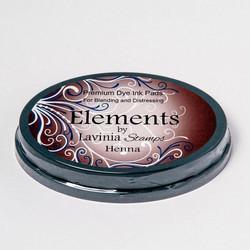 Lavinia Elements Premium Dye Ink -mustetyyny, sävy Henna