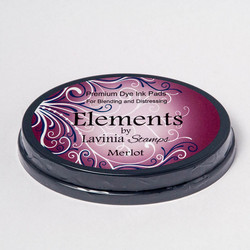 Lavinia Elements Premium Dye Ink -mustetyyny, sävy Merlot