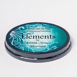 Lavinia Elements Premium Dye Ink -mustetyyny, sävy Mermaid