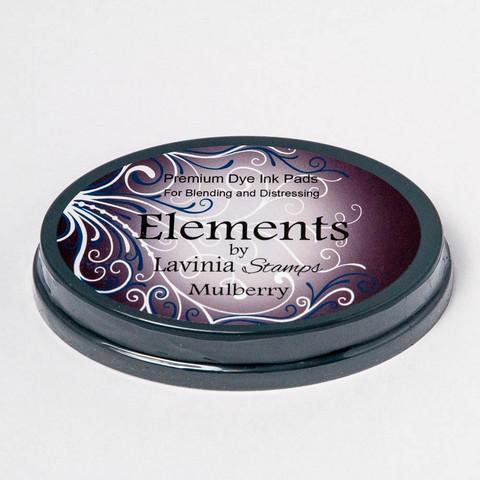 Lavinia Elements Premium Dye Ink -mustetyyny, sävy Mulberry