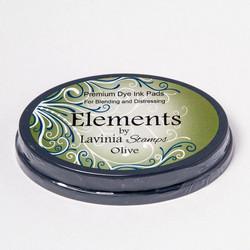Lavinia Elements Premium Dye Ink -mustetyyny, sävy Olive