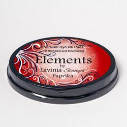 Lavinia Elements Premium Dye Ink -mustetyyny, sävy Paprika