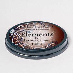 Lavinia Elements Premium Dye Ink -mustetyyny, sävy Truffle