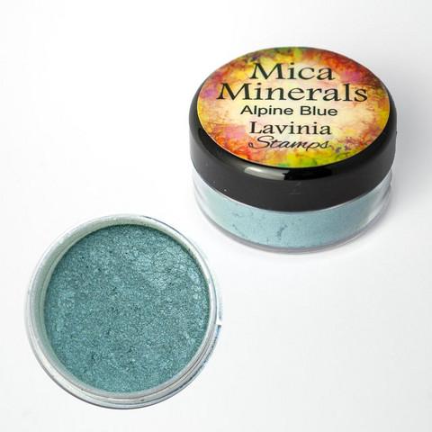 Lavinia Mica Minerals -jauhe, sävy Alpine Blue