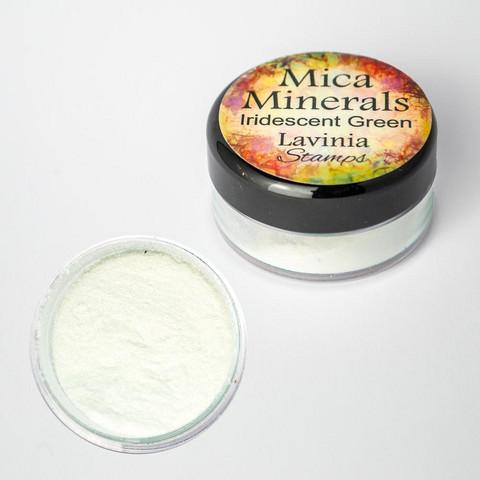 Lavinia Mica Minerals -jauhe, sävy Iridescent Green