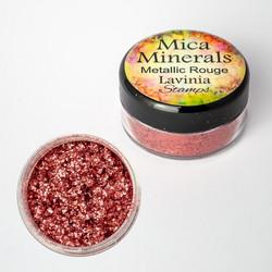 Lavinia Mica Minerals -jauhe, sävy Metallic Rouge