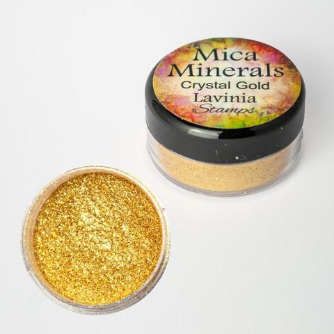 Lavinia Mica Minerals -jauhe, sävy Crystal Gold