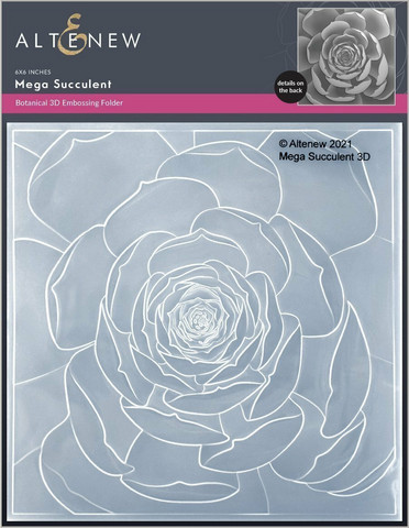 Altenew 3D kohokuviointikansio Mega Succulent