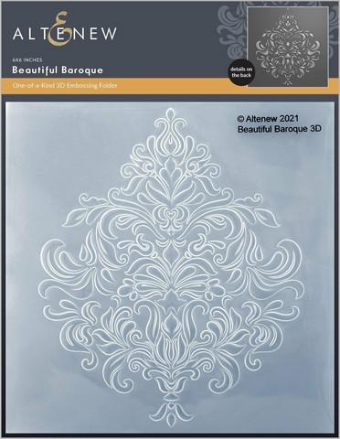 Altenew 3D kohokuviointikansio Beautiful Baroque