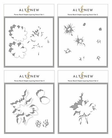 Altenew Flower Bunch Simple Layering -sapluunasetti