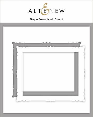 Altenew Simple Frame -sapluuna