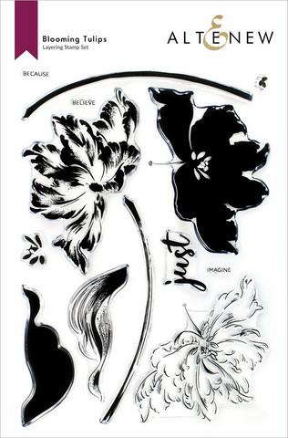 Altenew Blooming Tulips -leimasinsetti