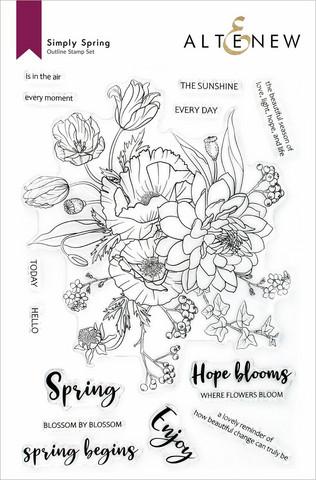 Altenew Simply Spring -leimasinsetti